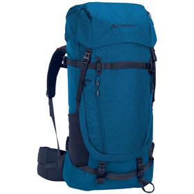 VAUDE Astrum EVO 55+10 Mochila Mujer, azul